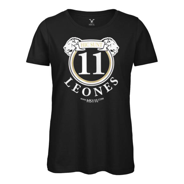 Total Black t-shirt donna