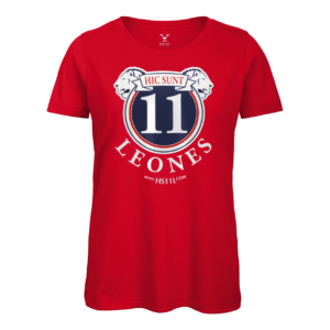 Total Red t-shirt donna