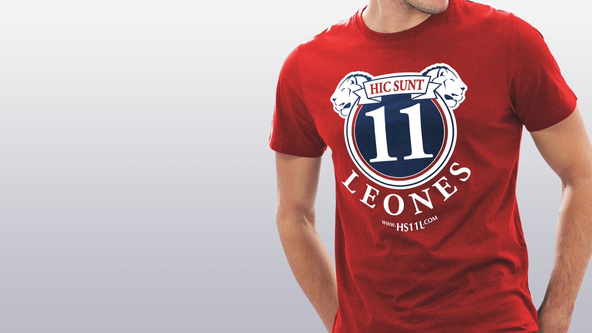 HS11L Total Red t-shirt