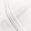 Active White tank-top detail