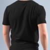 Total Black t-shirt uomo