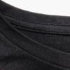 Total Black t-shirt detail