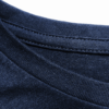 Total Blue t-shirt detail