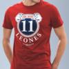 Total Red t-shirt uomo